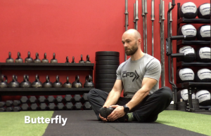 CrossFit CFD Stretch Butterfly