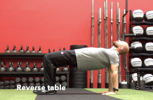 CrossFit CFD Stretch Reverse table