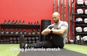 CrossFit CFD Stretch Sitting Piriformis Stretch