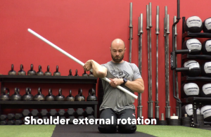 CrossFit CFD Stretch Shoulder External Rotation
