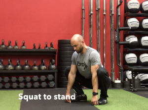CrossFit CFD Stretch Squat To Stand