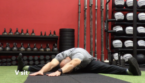 CrossFit CFD Stretch V Sit