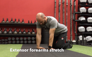 CrossFit CFD Stretch Extensor Forearms Stretch