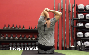 CrossFit CFD Stretch Triceps stretch