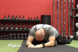 CrossFit CFD Stretch Pigeon
