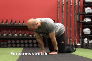 CrossFit CFD Stretch Forearms Stretch
