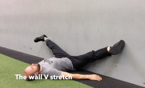CrossFit CFD Stretch The Wall V Stretch