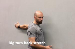 CrossFit CFD Stretch Big Turn Back Stretch