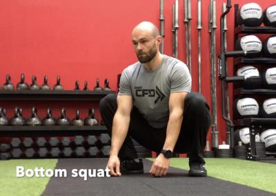 Bottom squat