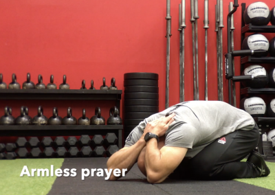 Armless prayer