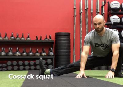 Cossack squat