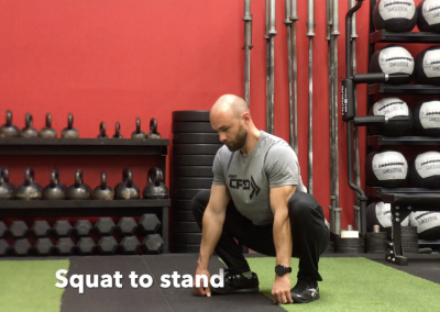 Squat to stand