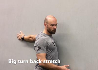 Big turn back stretch