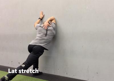 Lat stretch