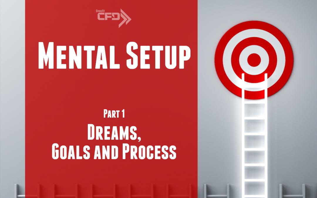Mental Setup – Dreams Goals And Process – Part 1